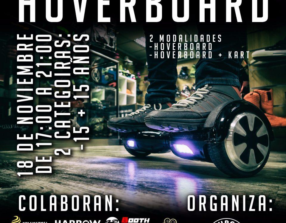 I Competición de HoverBoard
