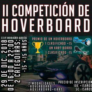 II Competición Hoverboard -15 Años